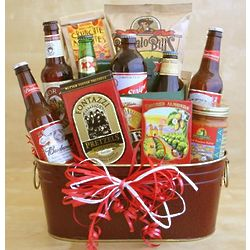 For the Love of Beer Gift Basket