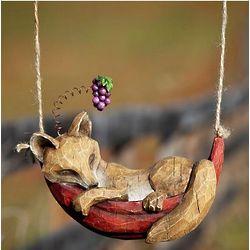 Daydreaming Animal Hanging Garden Sculpture