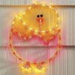 Lighted Chick Decoration