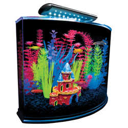 GloFish 5 Gallon Aquarium Kit with Blue LED