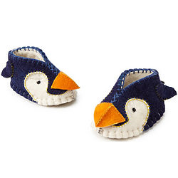 Handcrafted Penguin Booties