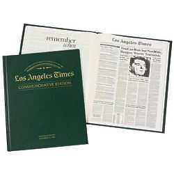 LA Times Birthday Newspaper