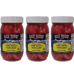 3 Jars of Pickled Pork Hocks