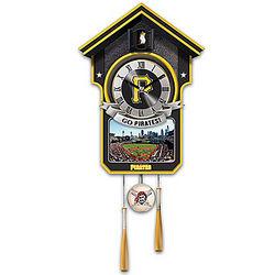Pittsburgh Pirates Tribute Cuckoo Clock