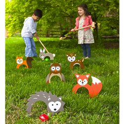 Kid's Woodland Croquet Set