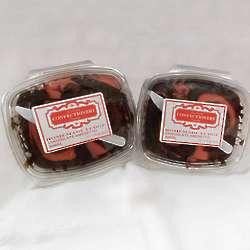 Chocolate Amaretto Swirl Fudge - 1 Lb