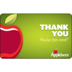 $50 Applebee's Thank You! Gift Card