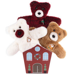 Holiday Treats Teddy Bear Bouquet