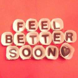 Feel Better Soon Milk Chocolate Gift Box