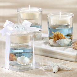 Seashell Gel Tealight Holder