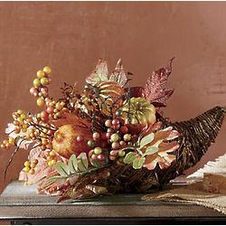 Harvest Cornucopia Centerpiece