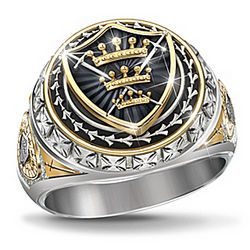 Legend of Excalibur King Arthur-Inspired Ring
