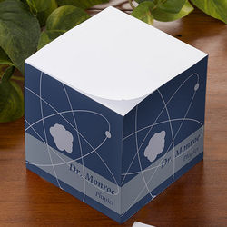 Teaching Professions Personalized Note Cube