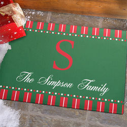 Christmas Spirit Personalized Standard Doormat