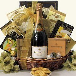 Bouvet Sparkling Wine Gift Basket