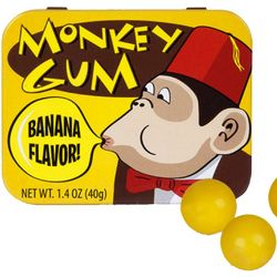 Monkey Banana-Flavored Gumballs