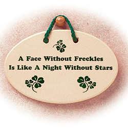 Freckles Plaque