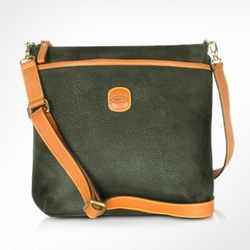Life - Micro-Suede Urban Messenger Bag