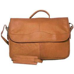 Leather Porthole Cafe Briefcase