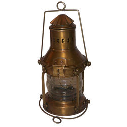 Brass Ship's Lantern