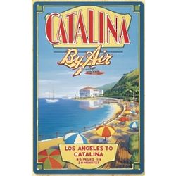 Vintage Catalina Beach Sign