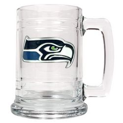 Personalized Seattle Sea Hawks Medallion Mug