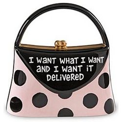 I Want What I Want Purse Bank