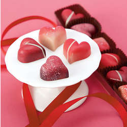 Chocolate Heart Truffle Gift Box