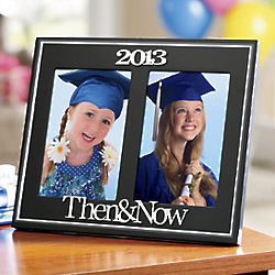 Then & Now Graduate Frame