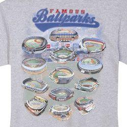 Famous Ballparks T-Shirt