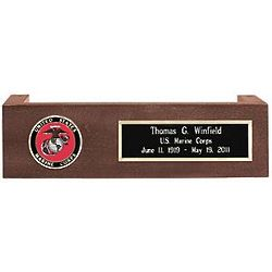 Personalized Army Pedestal For Flag Case