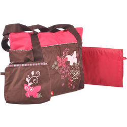 Butterflies Together 3-Piece Diaper Bag Set