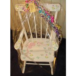 Child's Personalized Spindle Rocking Chair
