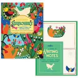 In the Meadow Stationary: How to Write a Letter Set