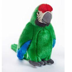 Tropical Parrot Green Plush Stuffed Animal