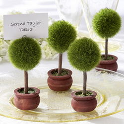 Topiary Place Card Holder Set