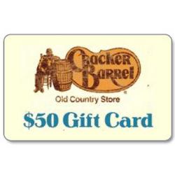 Cracker Barrel $50 Gift Card