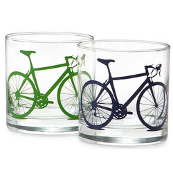 Bicycle Drinking Glasses