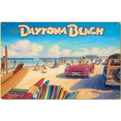 Vintage Daytona Beach Sign
