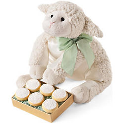 Birthday Lamb Cookie Set