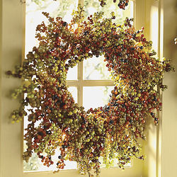 Harvest Berry Wreath