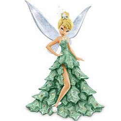 Tinker Bell Christmas Tree Figurine