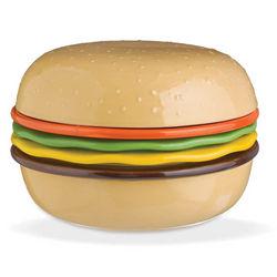 Burger Tidbit Plates and Bowl Set