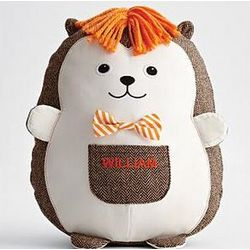 Hedgehog Patched Pocket Plush Toy