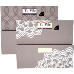 Organizher Large Magnetic Storage Pockets