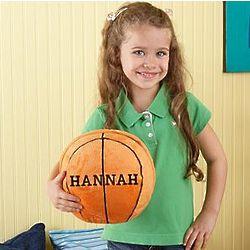 Personalized Plush Basketball