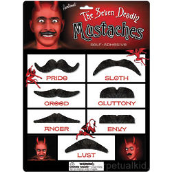 The 7 Deadly Mustaches Costume