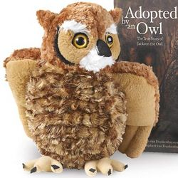 Great Horned Owl Stuffed Animal