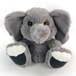 Stomper Elephant Taddle Toes Stuffed Animal