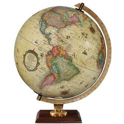 Carlyle Illuminated World Globe